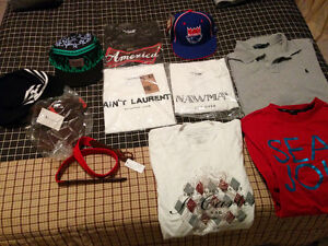 2 for $5 or the whole thing for $20. Various clothes