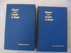 New Price--History of Brant County Vol. 1 & Vol.2 1920
