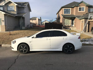 2015 Mitsubishi Lancer WARRANTIES, ACTIVE STATUS  39,400 KMS