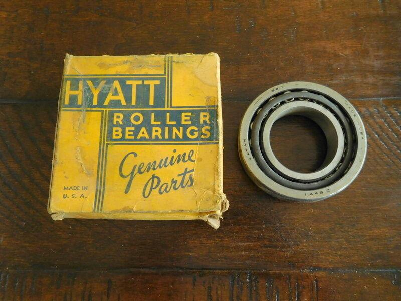 Hyatt Roller Bearings 902100 NOS 1932-54 Buick Chevrolet Commercial ½ T Mack Old