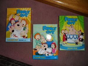 Family Guy - Volumes 1, 2 and 4 (mint!)