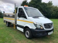 2017 Mercedes Sprinter 314Cdi 3.5T., Euro 6, 14FT Dropside With Tail Lift