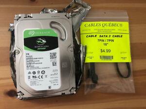 Seagate BarraCuda 2TB 3.5-Inch SATA Internal HDD
