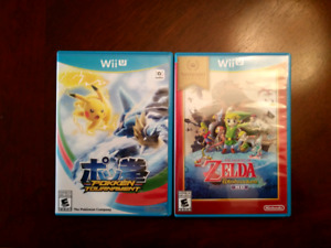 Wii u games 2 for $25