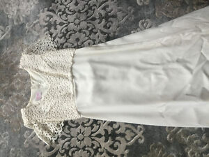 Simple, elegant, Bill Levkoff by Ambiance Couture Wedding dress