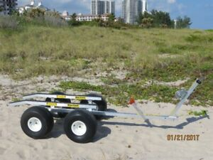 LOOKING for a tandem beach cart