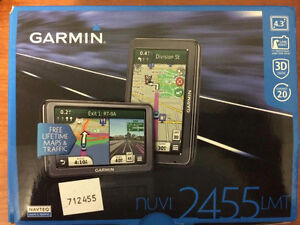 Garmin nuvi 2455LMT 4.3-Inch Portable GPS Navigator with Lifetim