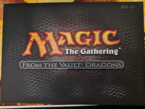 Magic the gathering from the vault: dragons