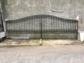 Gates fully galvanised and piwdercoated