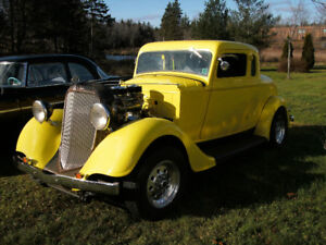1934 Plymouth Five Window Coupe