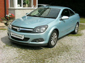Vauxhall Astra 1.6 16v ( 115ps ) Coupe 2009MY Twin Top Sport
