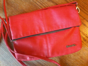 Bench Purse (Red)