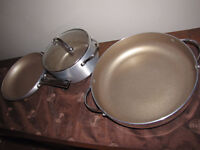 Non stick pots and pans Never used.