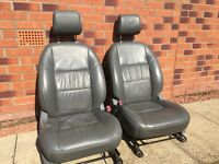 Toyota Hilux leather seats and door cards
