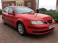 Saab 9 3 1.9TID LINEAR 150BHP (red) 2005