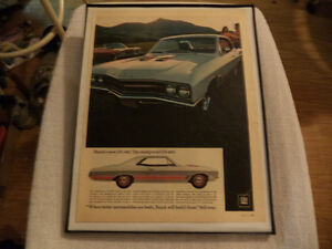 OLD CLASSIC MUSCLE CAR ADS