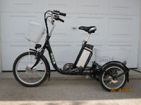 Emmo B3 Electric Assist Adult Tricycle