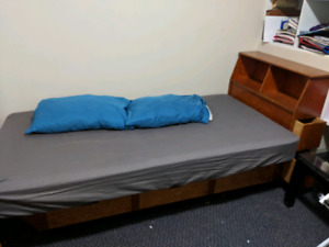 Homemade Captains style Bed