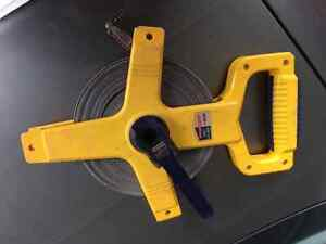 30m Long Open Reel Tape Measure