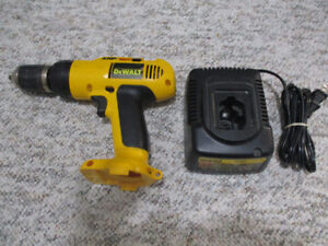 Dewalt Cordless XRP Drill & Charger   (No Battery)