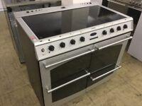 Belling Matt silver Electric Range Cooker
