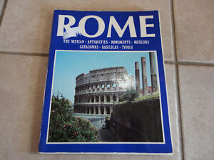LOT OF 2 BOOK ALL ROME THE VATICAN AND SISTINE CHAPEL & ROME London Ontario image 7