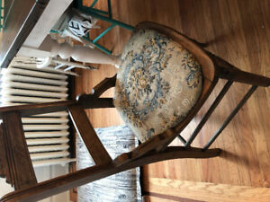 Antique dining chair for sale