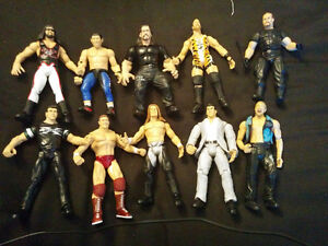 Used Wrestling Action Figure Collection For Sale!!!