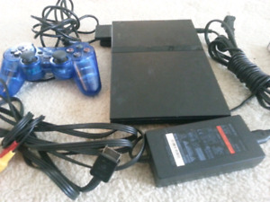 PS2 GAME SYSTEM WITH MEMORY CARD & GAME,