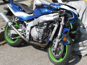 1991 kawasaki zx-7r ninja parts bike