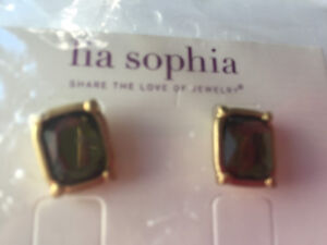 Lia Sophia Versailles Olivine earrings