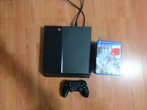 Playstation 4 500GB with 7 games