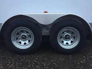 7' x 14' Tandem Axle Cargo Trailer • 7' tall! • Made in Canada Kitchener / Waterloo Kitchener Area image 4