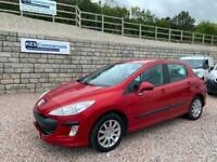2009 Peugeot 308 1.4 VTi Verve 5dr only 42000 miles HATCHBACK Petrol Manual