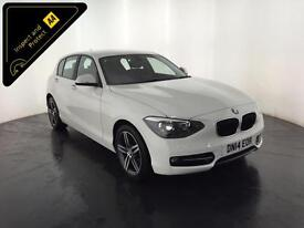 WHITE 2014 BMW 116D SPORT 5 DOOR HATCHBACK FINANCE PX WELCOME