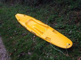 Patrol ski - sit on kayak