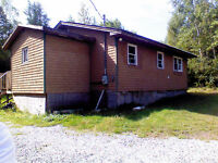 Country home on 1 acre,700/month+elec. heat.30mins from StJohn