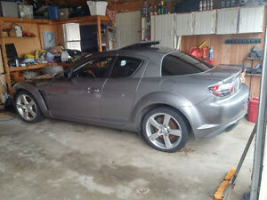 Grey Mazda RX8 Part out (Lots left)