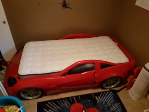 Cars bed  and corvette dresser