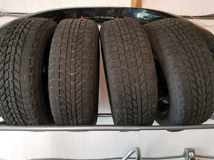 Firestone Winterforce tires on 205/60R16