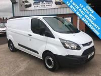 2014 14 FORD TRANSIT CUSTOM 2.2 290 LWB LOW ROOF SUPERB CONDITION DIESEL