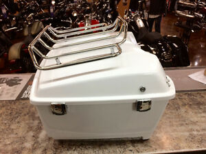 White Tour-Pak Fits 2009-2013 Harley Touring. In Yorkton