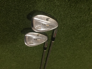 54* and 60* Cleveland Wedges