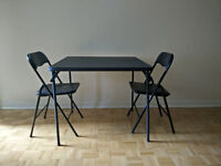 Fold-able Dining Table and Chairs