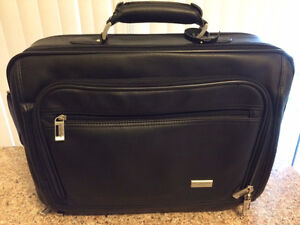 BRIEFCASE - HOLDS LAPTOP AND SUPPLIES