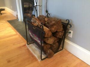 Wrought Iron Log holder