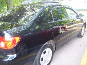 2007 Toyota Corolla SE Berline