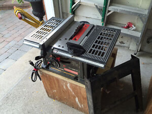 Sears Craftsman table saw 10 inches