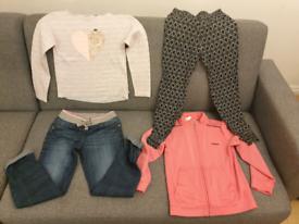 Girl's clothes bundle Y 8/9