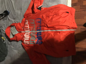 LARGE thirty two orange snowboard jacket